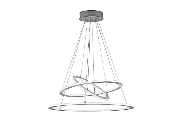 LED-Riippuvalaisin Durban 80 cm Harjattu Teräs - TRIO - Valaistus - Sisävalaistus & lamput - Kattovalaisimet