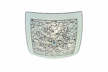 Plafondi Jura 44 cm Musta/Valkoinen