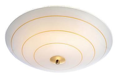 Plafondi Lyon 43 cm Valkoinen/Kulta