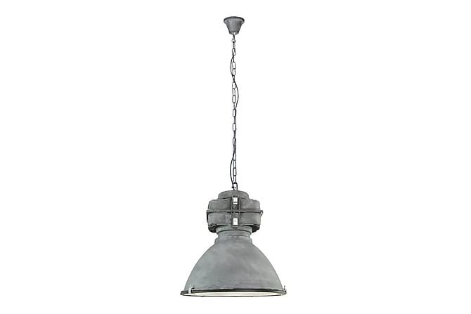 Riippuvalaisin Ahnah Himmennettävä Lasi 47,5 cm - Harmaa Antiikki - Valaistus - Sisävalaistus & lamput - Kattovalaisimet