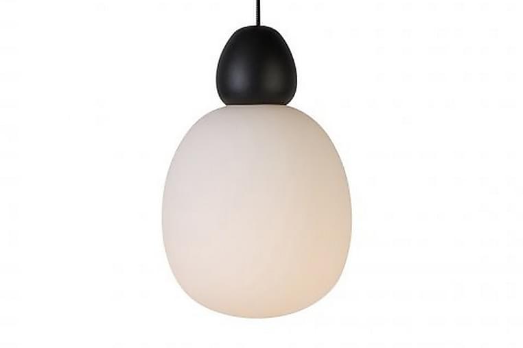Riippuvalaisin Buddy 18,4 cm Musta/Opaalilasi - Belid - Valaistus - Sisävalaistus & lamput - Kattovalaisimet