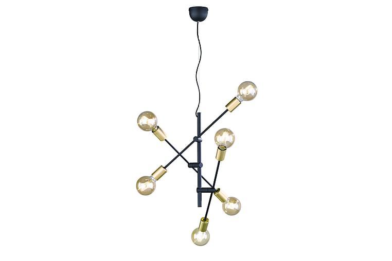 Riippuvalaisin Cross Ø54 cm Mattamusta/Kulta - TRIO - Valaistus - Sisävalaistus & lamput - Kattovalaisimet
