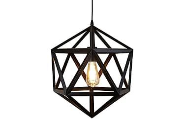 Riippuvalaisin Cube Geometric 1L Matta Musta