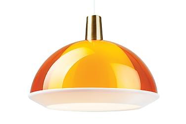 Riippuvalaisin Kuplat 27 cm Pyöreä Oranssi