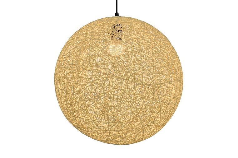 Roikkuva lamppu kerma pallo 45 cm E27 - Kerma - Valaistus - Sisävalaistus & lamput - Kattovalaisimet