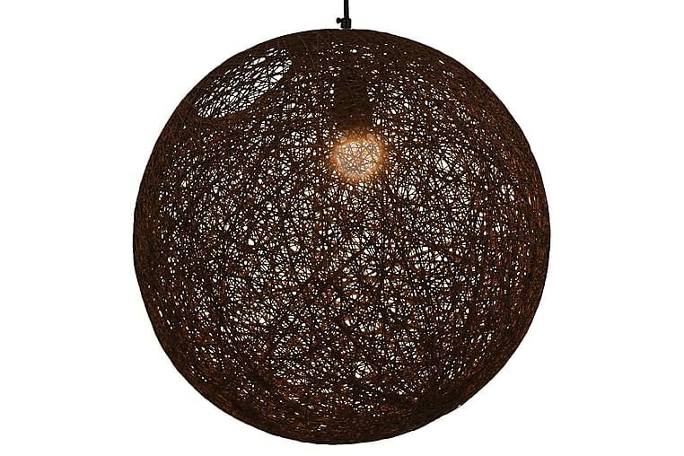 Roikkuva lamppu ruskea pallo 45 cm E27 - Ruskea - Valaistus - Sisävalaistus & lamput - Kattovalaisimet