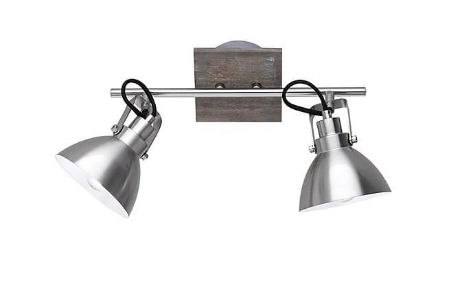 Timber spotlight 2-pc 2xE14 nickel mat - TRIO - Valaistus - Sisävalaistus & lamput - Kattovalaisimet