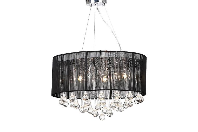 Kristallikruunu 85 Kristallilla Musta - Musta - Valaistus - Sisävalaistus & lamput - Kristallikruunut & kattokruunut