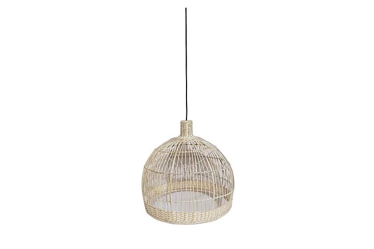 Lampunvarjostin Bali-5 Rottinki Kuultovalkoinen - Valaistus - Sisävalaistus & lamput - Lampunvarjostimet