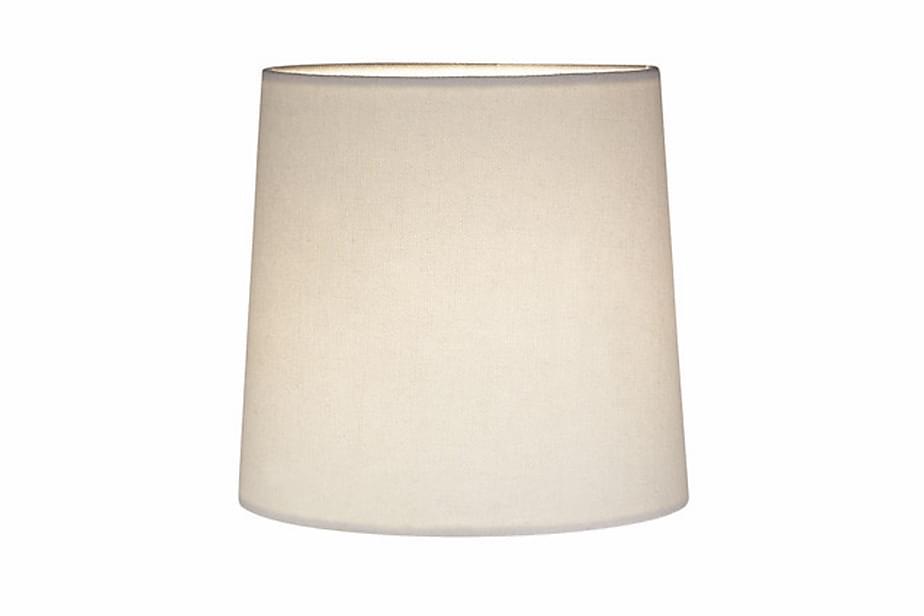 Lampunvarjostin Cylinder Valkoinen