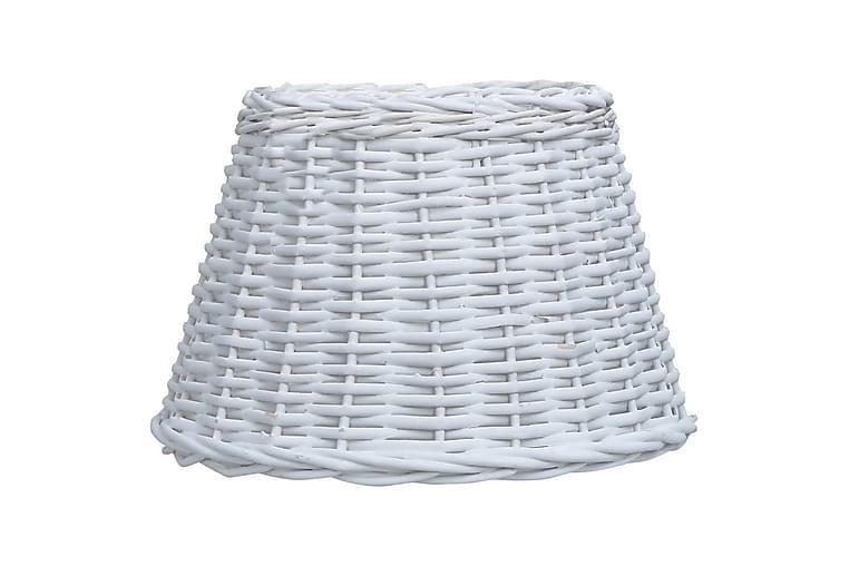 Lampunvarjostin paju 40x26 cm valkoinen - Valaistus - Sisävalaistus & lamput - Lampunvarjostimet