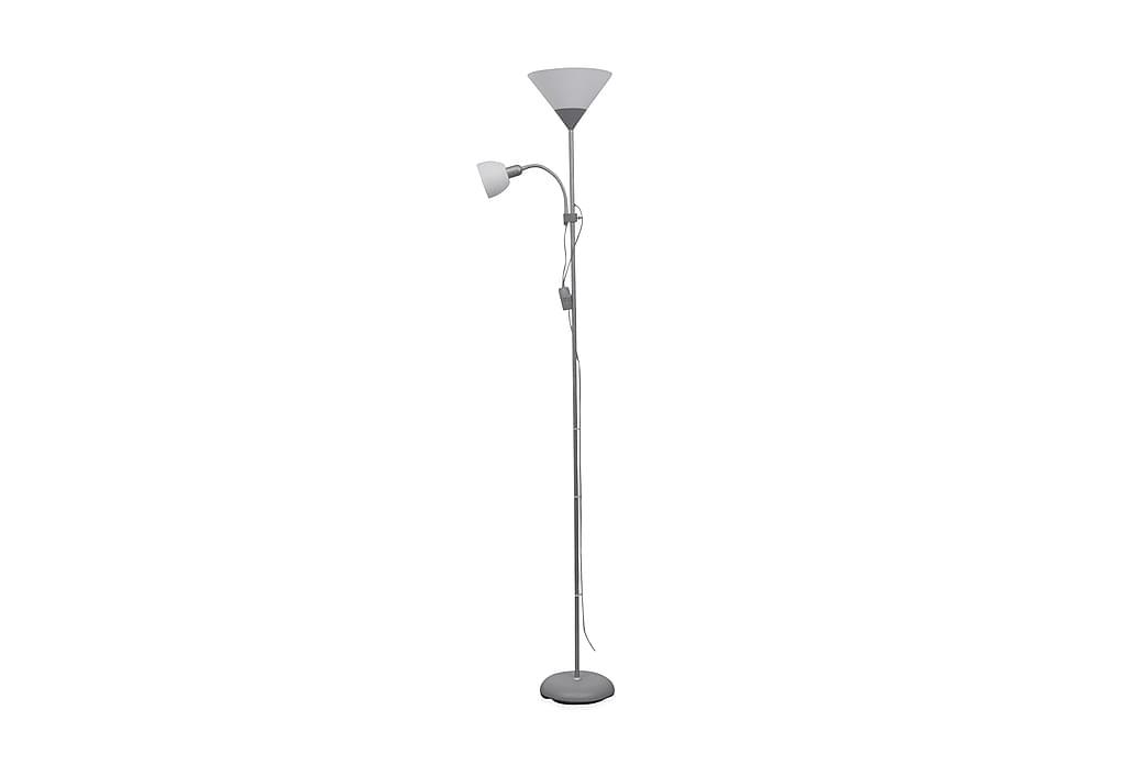 Lattiavalaisin harmaa - Harmaa - Valaistus - Sisävalaistus & lamput - Lattiavalaisimet
