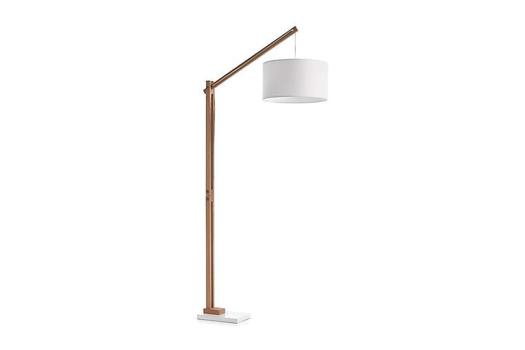 Lattiavalaisin Izar 82/186/40 cm - Valkoinen - Valaistus - Sisävalaistus & lamput - Lattiavalaisimet