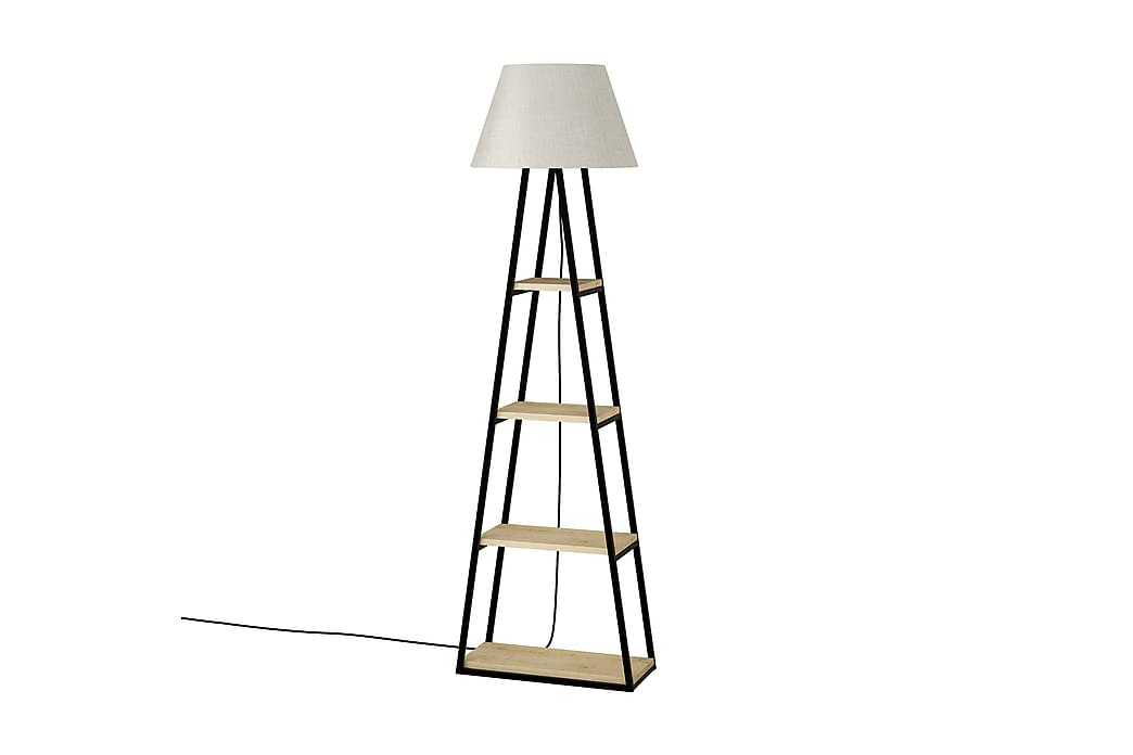 Lattiavalaisin Lindome 45 cm - Ruskea - Valaistus - Sisävalaistus & lamput - Lattiavalaisimet