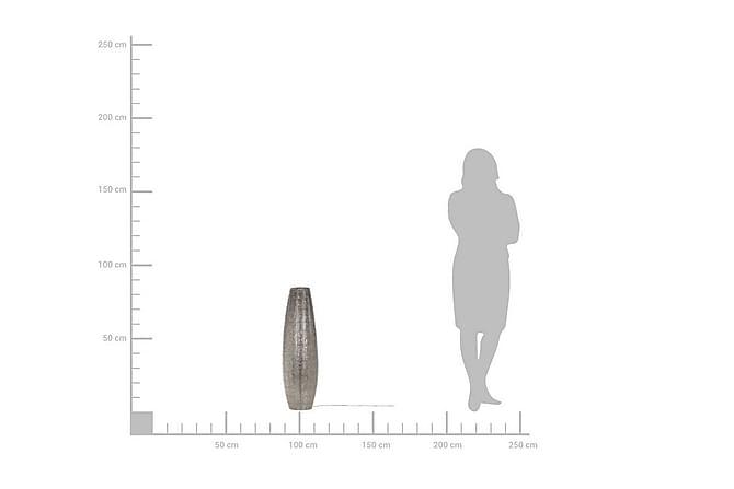 Lattiavalaisin Maringa 85 cm - Hopea - Valaistus - Sisävalaistus & lamput - Lattiavalaisimet