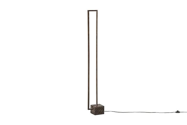 Lattiavalaisin Panemune LED - Tumma puu - Valaistus - Sisävalaistus & lamput - Lattiavalaisimet