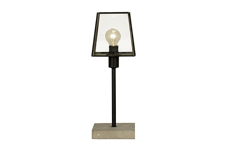 Pöytävalaisin Diplomat Musta/Harmaa - Aneta - Valaistus - Sisävalaistus & lamput - Pöytävalaisimet