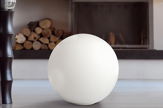 Pöytävalaisin Hesobe 25 cm - Valkoinen - Valaistus - Sisävalaistus & lamput - Pöytävalaisimet