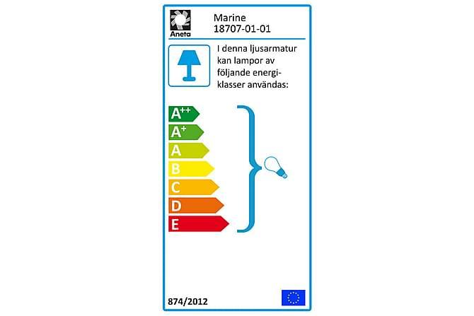 Pöytävalaisin Marine Valkoinen - Aneta - Valaistus - Sisävalaistus & lamput - Pöytävalaisimet