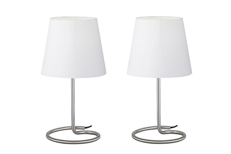 Pöytävalaisin Twin 2 kpl 1xE14 Valkoinen - TRIO - Valaistus - Sisävalaistus & lamput - Pöytävalaisimet