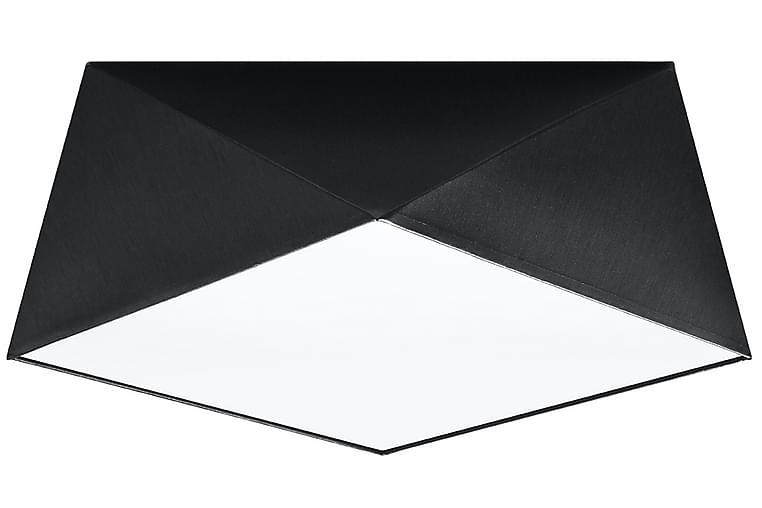 Kattovalaisin Hexa 40X40 cm Musta - Sollux-valaistus - Valaistus - Sisävalaistus & lamput - Kattovalaisimet