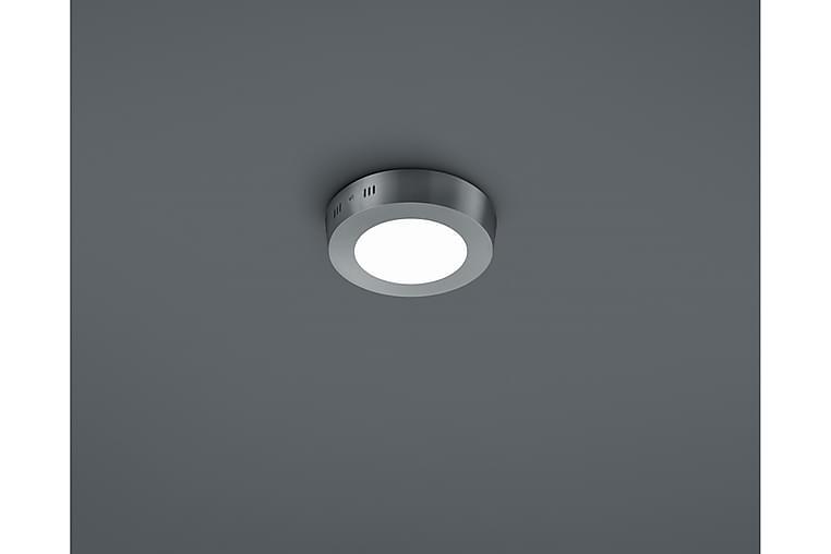 LED-Plafondi Cento 12 cm Harjattu Teräs - TRIO - Valaistus - Sisävalaistus & lamput - Kattovalaisimet