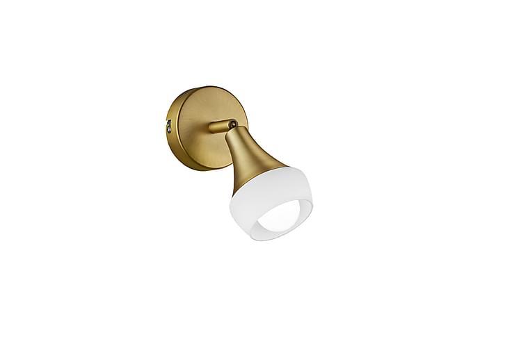 Kattospotti Trumpet E14 Antiikkimessinki - TRIO - Valaistus - Sisävalaistus & lamput - Seinävalaisimet