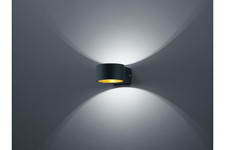 LED-Seinävalaisin Lacapo Musta/Kulta - TRIO - Valaistus - Sisävalaistus & lamput - Seinävalaisimet