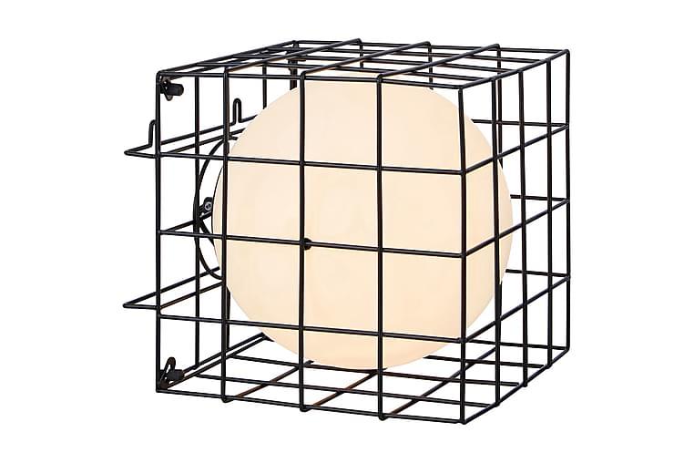 Pöytävalaisin/Seinävalaisin Cage - Musta/Valkoinen - Valaistus - Sisävalaistus & lamput - Seinävalaisimet