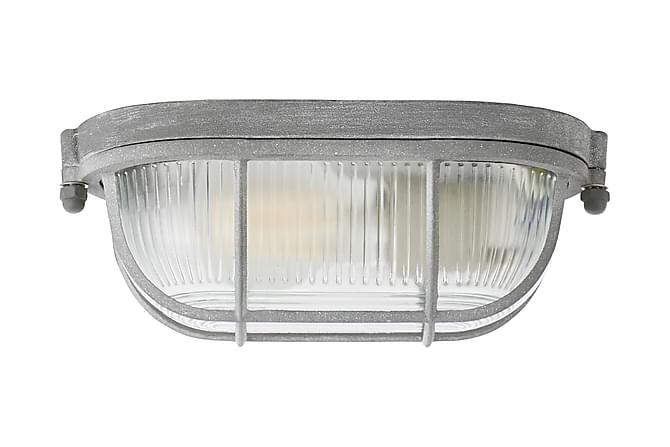 Seinä/kattovalaisin Binay Himmennettävä 21 cm - Harmaa - Valaistus - Sisävalaistus & lamput - Seinävalaisimet