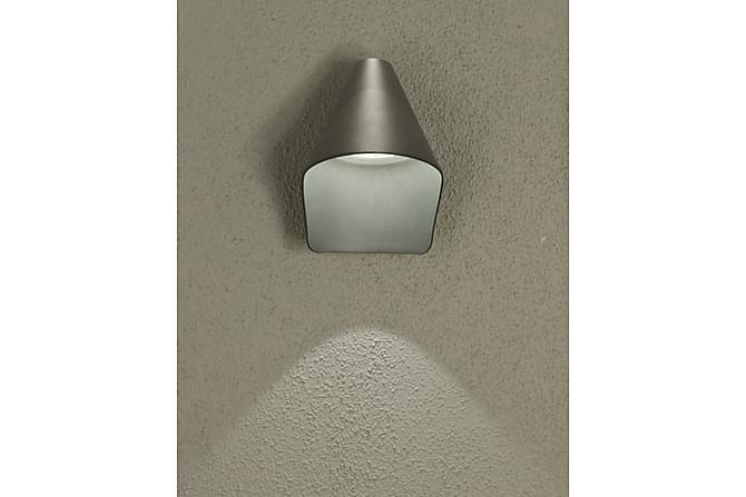 Seinävalaisin Hood Harmaa - Aneta - Valaistus - Sisävalaistus & lamput - Seinävalaisimet