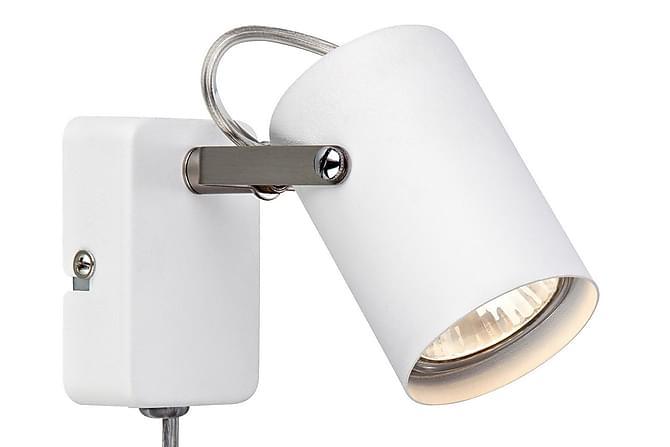 Seinävalaisin Key Valkoinen/Teräs - Markslöjd - Valaistus - Sisävalaistus & lamput - Seinävalaisimet