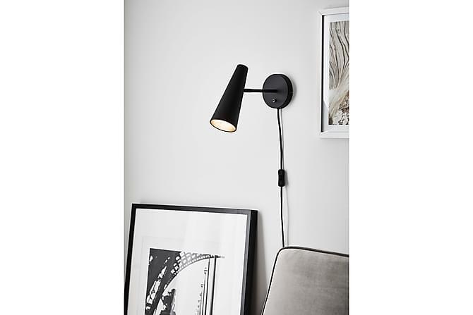 Seinävalaisin PEAK Musta - Markslöjd - Valaistus - Sisävalaistus & lamput - Seinävalaisimet