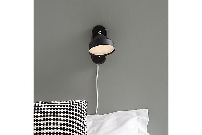 Seinävalaisin Tratt Musta - Markslöjd - Valaistus - Sisävalaistus & lamput - Seinävalaisimet