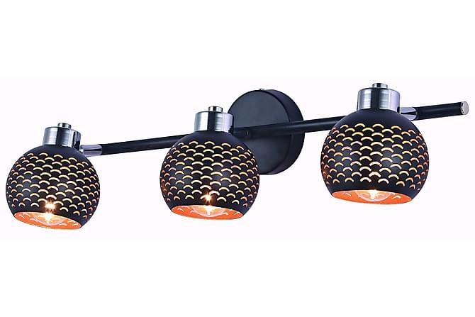 Spottivalo Holly 3L - Musta - Valaistus - Sisävalaistus & lamput - Seinävalaisimet