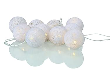Valosarja Pallot Twix LED 10L Valkoinen