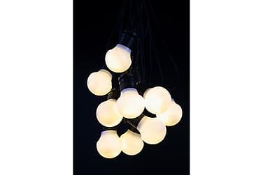 Valosarja Valkoinen valo 9m+3m IP44 10L Musta