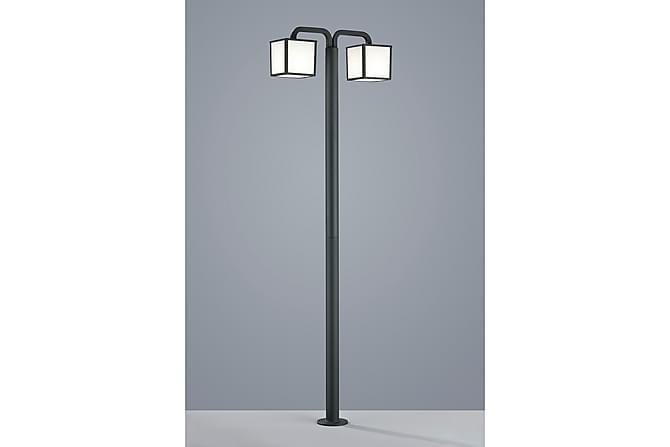 Pylväsvalaisin Cubango LED 2x5W, 200cm, 2-osainen - TRIO - Valaistus - Ulkovalaistus - Ulkovalaisimet