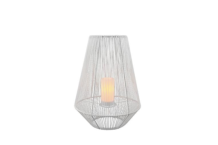 Aurinkokennopöytävalaisin Mineros 51 cm Valkoinen - TRIO - Valaistus - Ulkovalaistus - Ulkovalaisimet