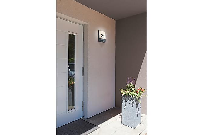 Kasai LED seinävalaisin / numerovalaisin antrasiitti - TRIO - Valaistus - Ulkovalaistus - Ulkovalaisimet
